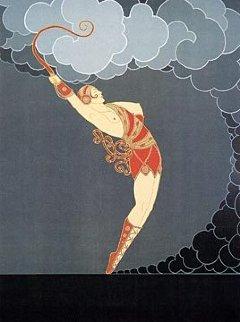 Dancer 1983 Limited Edition Print by  Erte
