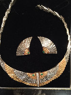 Nile Gold Necklace And Earrings 1980 Jewelry by  Erte - 0