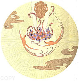 Moon 1980 Limited Edition Print -  Erte