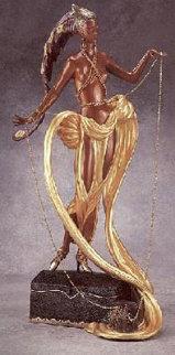 Pleasure of the Courtesan Bronze Sculpture 1990 Sculpture -  Erte