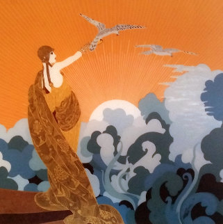 Wings of Victory AP 1978 Limited Edition Print by  Erte