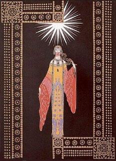 La Princess Lointaine 1984 Limited Edition Print by  Erte