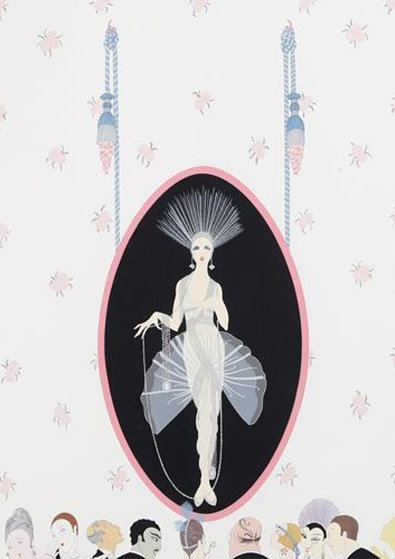Portrait 1981 Limited Edition Print by  Erte