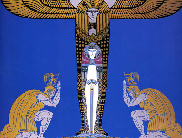 Cleopatre 1986 Limited Edition Print by  Erte