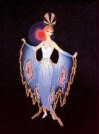Twilight 1987 Limited Edition Print by  Erte - 0
