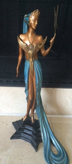 Astra  Bronze Sculpture 1987 19 in Sculpture -  Erte
