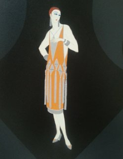 Manhattan Mary I  Limited Edition Print by  Erte