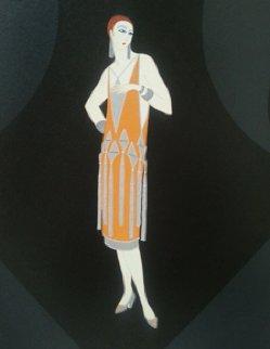 Manhattan Mary I  Limited Edition Print by  Erte