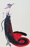 Cloudy Morning  and   Black Magic from the Vamps suite 1980 Limited Edition Print by  Erte - 1