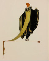Ready for the Ball, Diptych 1982 Limited Edition Print by  Erte - 1