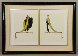 Ready for the Ball, Diptych 1982 Limited Edition Print by  Erte - 0