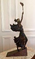 Liberty Bronze Sculpture 1984 Sculpture by  Erte - 2