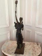 Liberty Bronze Sculpture 1984 Sculpture by  Erte - 3