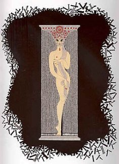 Numbers Complete Suite of 10 AP 1980 Limited Edition Print by  Erte