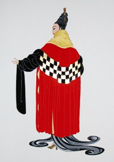 Gala Performance 1981 Limited Edition Print by  Erte