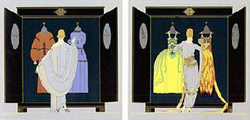 Choice 1981 Limited Edition Print by  Erte