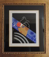 Winter Resorts AP 1974 Limited Edition Print by  Erte - 1