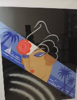 Winter Resorts AP 1974 Limited Edition Print by  Erte - 2