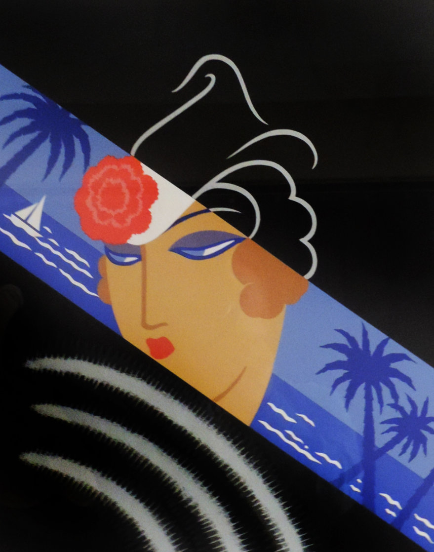 Winter Resorts AP 1974 Limited Edition Print by  Erte