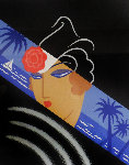 Winter Resorts AP 1974 Limited Edition Print -  Erte