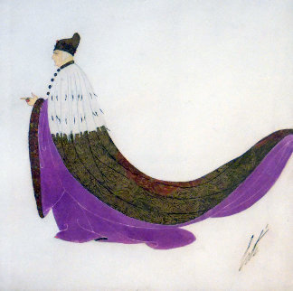 Le Doge 1919 13x13 Original Painting -  Erte