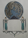Blue Asia 1985 Limited Edition Print -  Erte