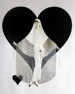 June Brides Suite of 2 Limited Edition Print by  Erte