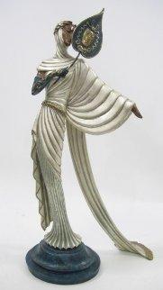 Tanagra Bronze Sculpture 1986 Sculpture by  Erte
