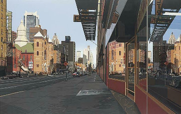 Holland Hotel  1984 Limited Edition Print by Richard Estes