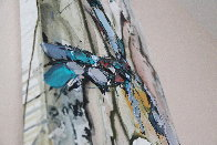 Abstract Dancer 2000 48x12 Huge Original Painting by Maya Eventov - 4