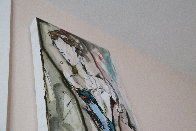 Abstract Dancer 2000 48x12 Huge Original Painting by Maya Eventov - 3