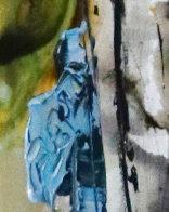 Abstract Dancer 2000 48x12 Huge Original Painting by Maya Eventov - 6