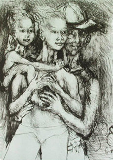 Family 1965 Limited Edition Print - Philip Evergood