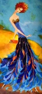 Jacaranda Dress AP 2010 Limited Edition Print by Alina Eydel