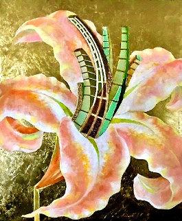Stargazer 36x30 Original Painting - Alina Eydel