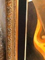Siamese Turban 2006 18x36 Original Painting by Alina Eydel - 6
