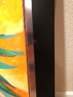 Palm Tree Hat: Tropical Collection 2007 43x26 Original Painting by Alina Eydel - 9