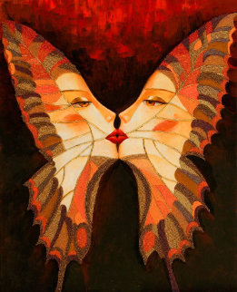 Butterfly Kiss I 2010 Limited Edition Print by Alina Eydel