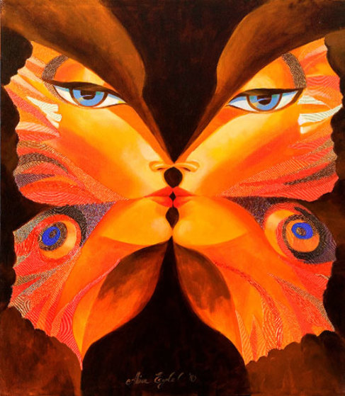 Butterfly Kiss VI Limited Edition Print by Alina Eydel