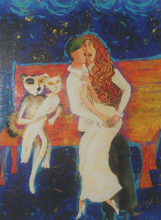 2 Couples 2001 Limited Edition Print by Alina Eydel