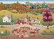 Hog Heaven 1993 24x30 Original Painting by Gisela Fabian - 0
