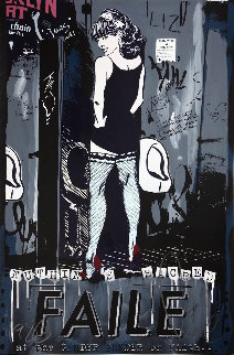 Gender Bender AP 2012 Limited Edition Print by  FAILE