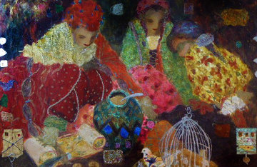 Murano Memories 1 Embellished Limited Edition Print by Roy Fairchild-Woodard