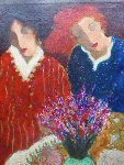 Bright Colours 28x19 Original Painting - Roy Fairchild-Woodard
