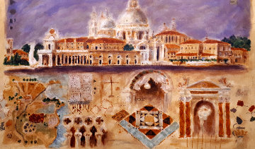 Santa Maria Della Salute 1998 Limited Edition Print - Roy Fairchild-Woodard