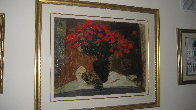 Red Flowers Limited Edition Print by Roy Fairchild-Woodard - 1