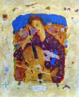 Cellist AP 2000 Limited Edition Print by Roy Fairchild-Woodard
