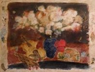 White Flowers 1992 Limited Edition Print by Roy Fairchild-Woodard - 1