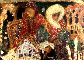 Murano Memories II 1993 Embellished Limited Edition Print by Roy Fairchild-Woodard