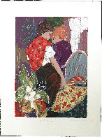 Intimacy 1 PP Limited Edition Print by Roy Fairchild-Woodard - 1